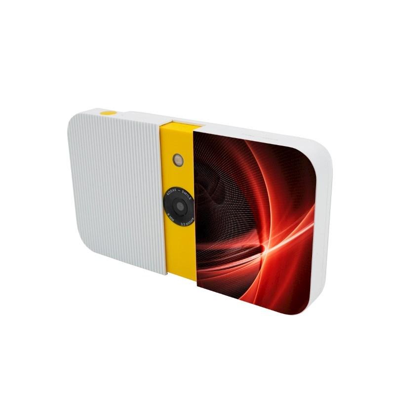 Kodak Smile Instant Print Digital Camera Max Print Wit met bedrukking in full color