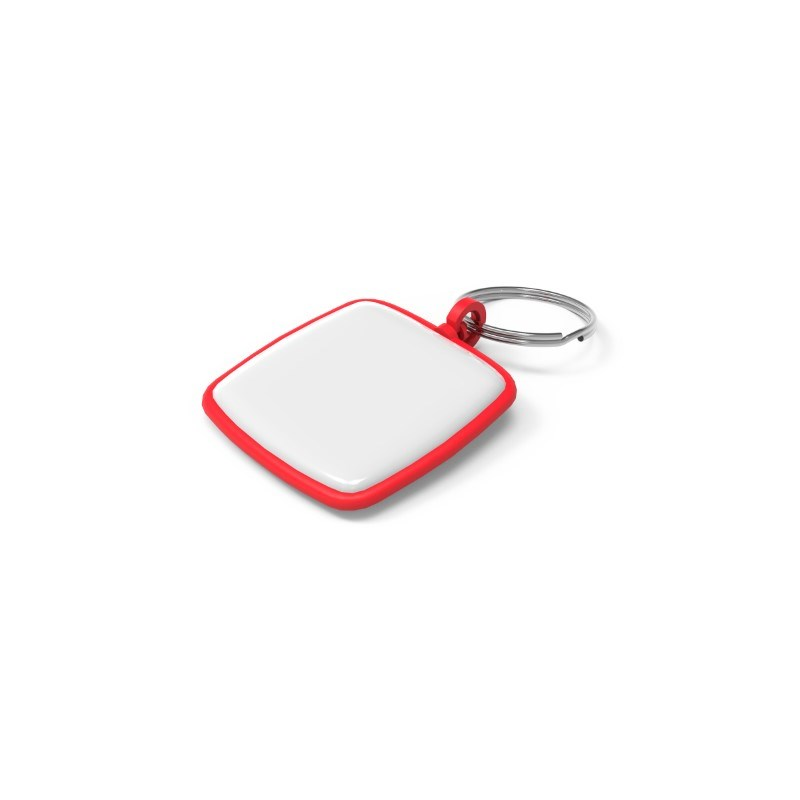 Key Ring Square Rood
