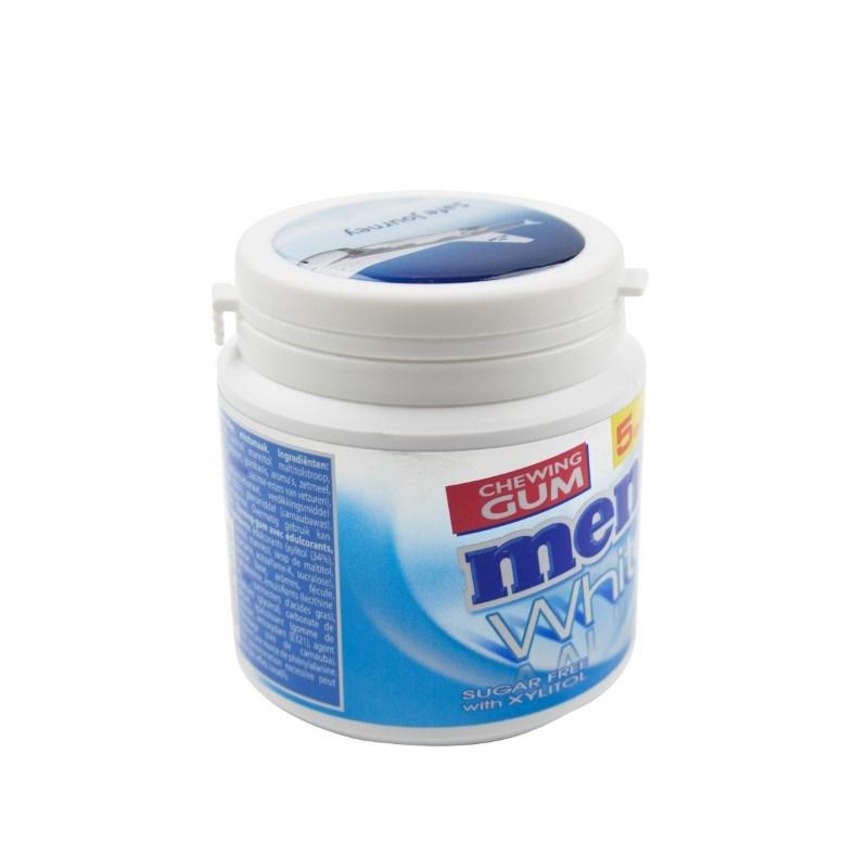 Mentos Canister Doming and label in full color Elke kleur mogelijk met full color doming