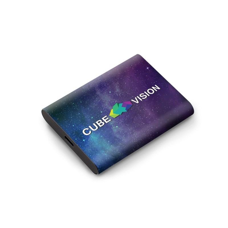 Samsung Portable SSD T5 500 GB Max Print Elke kleur mogelijk met bedrukking in full color