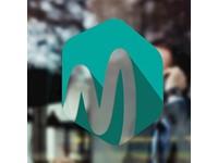Window Static Sticker Transparent 500-750 cm2 met bedrukking in full color