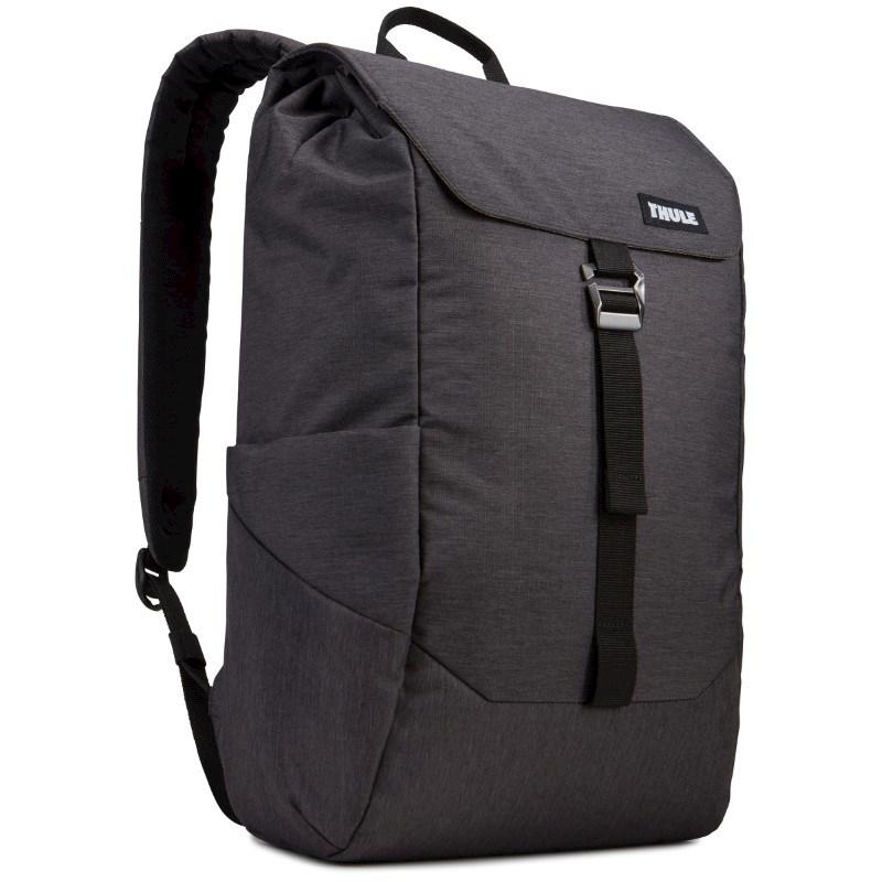 Thule Lithos Backpack 16L Thermal print in full color Zwart