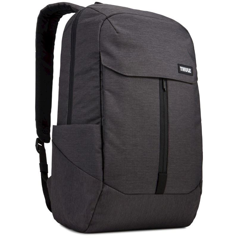 Thule Lithos Backpack 20L Thermal print in full color Zwart