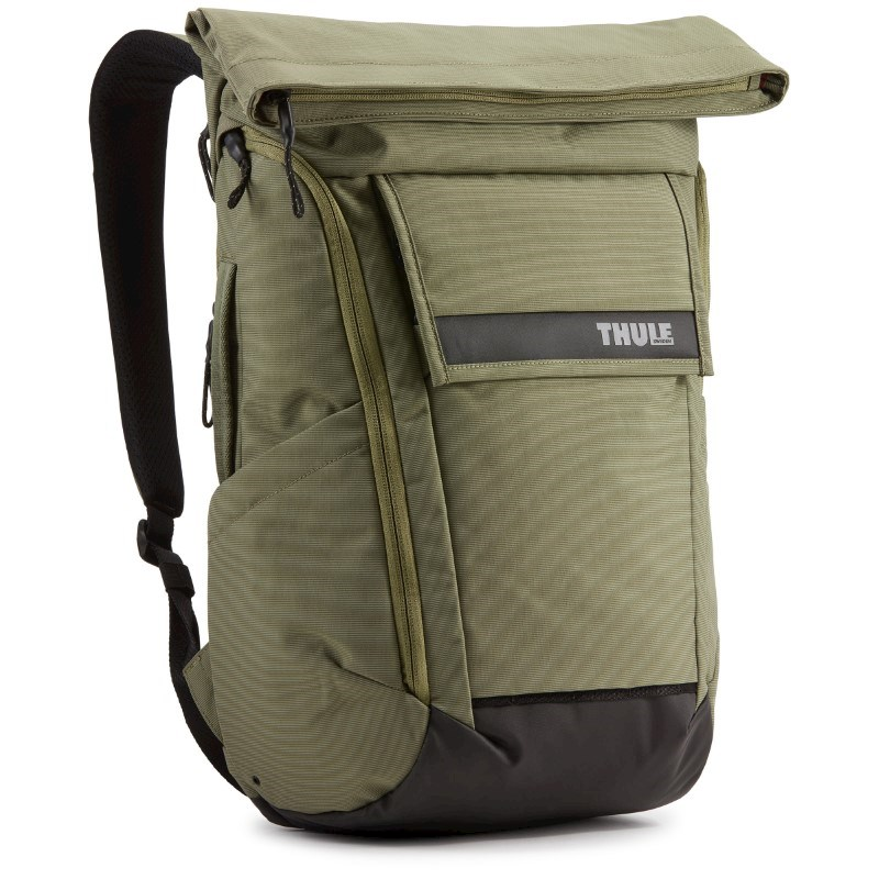 Thule Paramount Backpack 24L Thermal print in full color Olivine