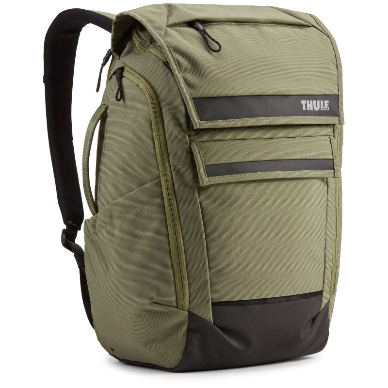 Thule Paramount Backpack 27L Thermal print in full color Olivine