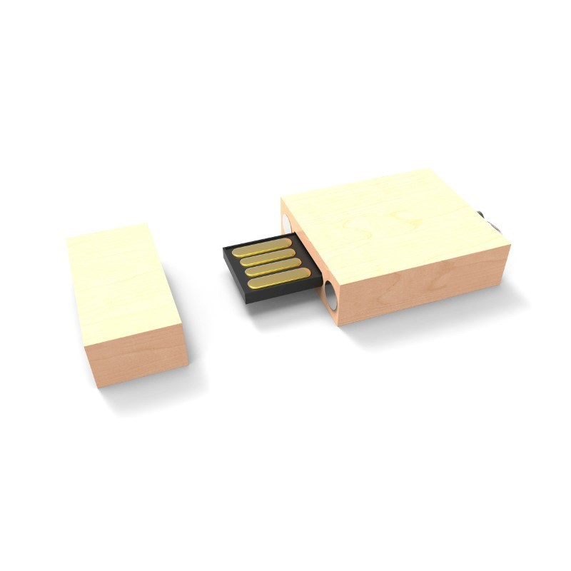 USB Stick Eco Wood 2 GB Premium