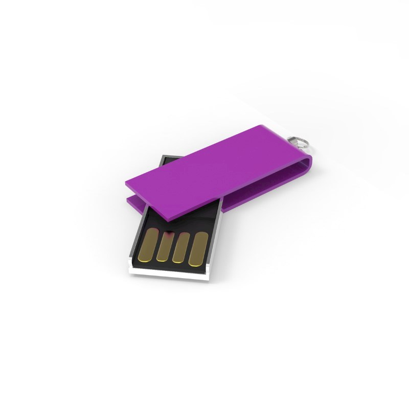 USB Stick Micro Twist 2 GB Basic Fuchsia