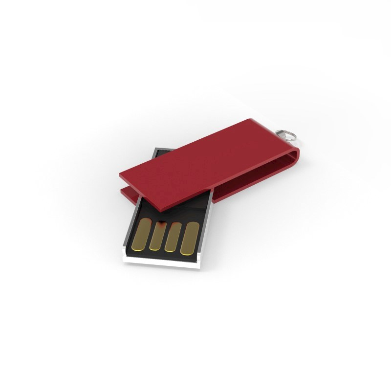 USB Stick Micro Twist 2 GB Premium Rood