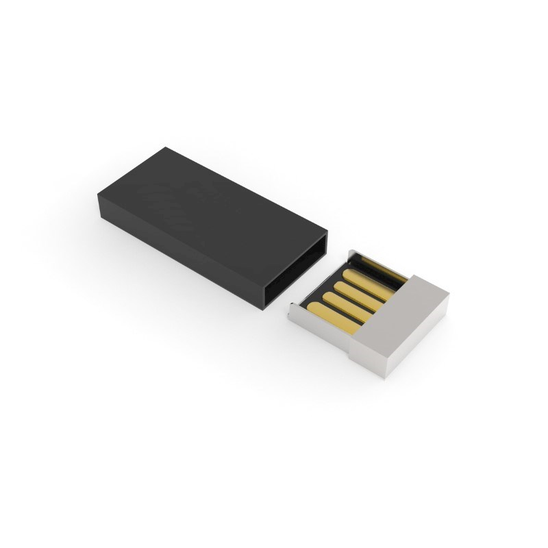 USB Stick Milan 2 GB Basic Zwart
