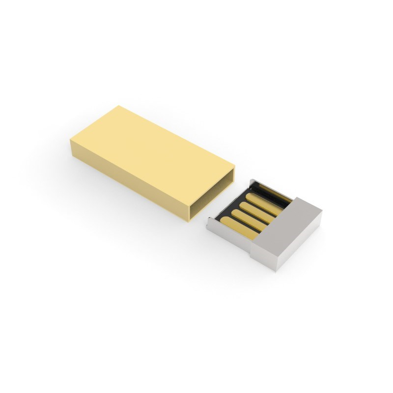 USB Stick Milan 2 GB Basic Goud