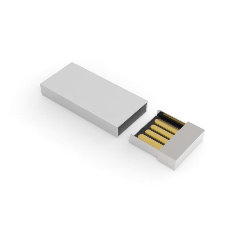 USB Stick Milan 128 GB Premium Zilver