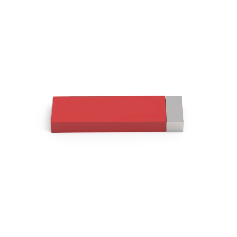 USB Stick Milan Large 4 GB Premium Rood