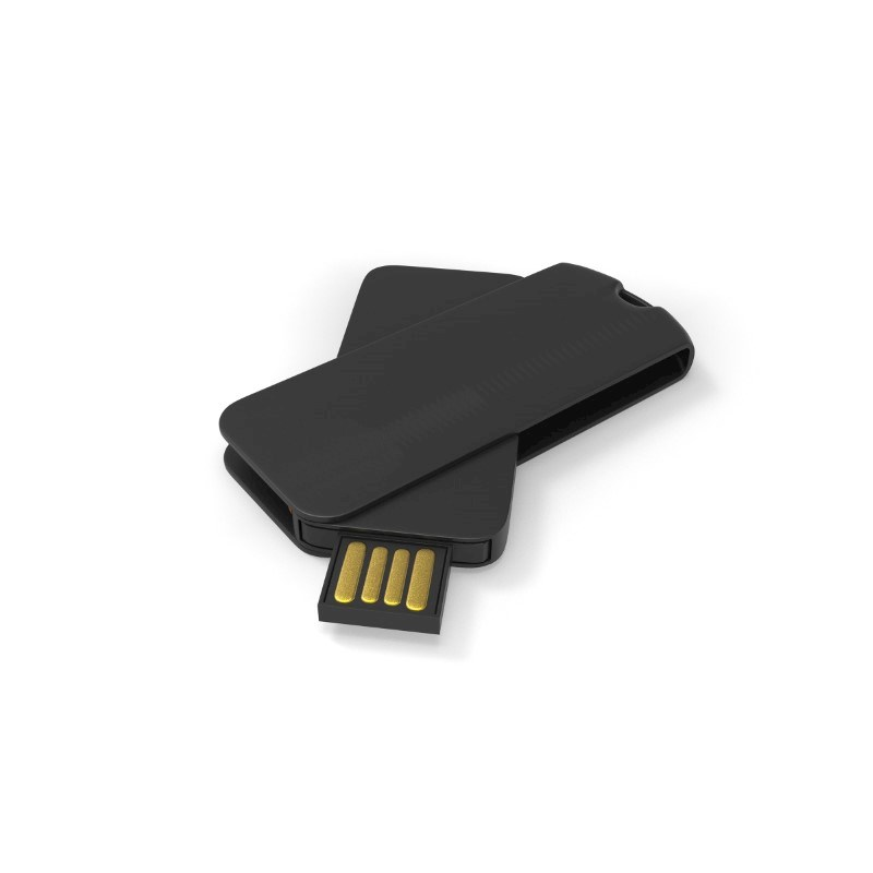 USB Stick Smart Twister Large 2 GB Basic Zwart