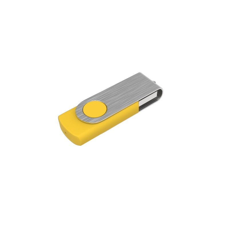 USB Stick Twister 8 GB Basic Geel