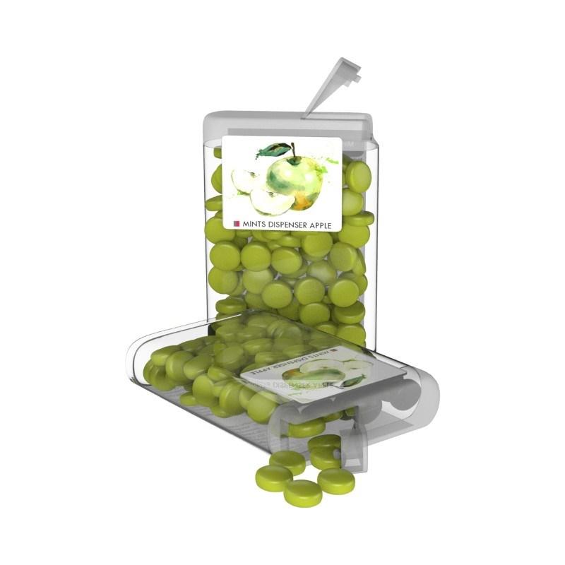 Vip Sweets Apple Transparant met label met bedrukking in full color