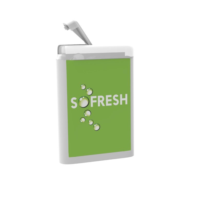 VIP Mints white box Label Wit met label met bedrukking in full color