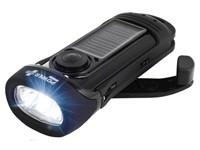 POWERplus Barracuda Solar en Dynamo Waterproof Oplaadbare LED Zaklamp