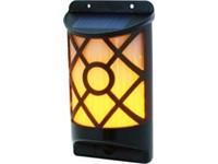 POWERplus Kiwi Solar Wandlamp - solar realistisch vlam effect wandlamp