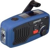 POWERplus Panther Dynamo / Solar / USB Oplaadbare FM Scan Radio LED zaklamp en noodlader