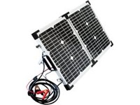 POWERplus Python Opklapbaar Zonnepaneel Solar 2 x 20W Koffer