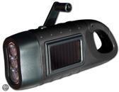 POWERplus Seahorse Dynamo en Solar Oplaadbare 3 LED Zaklamp