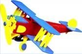 POWERplus Solar Toy Wood Vliegtuig