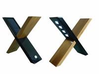 POWERplus Sphynx Design Bamboo Solar Oplaadbare Lamp