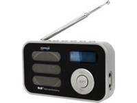 POWERplus Stork Solar DAB+ FM Pocket Radio - Digitale Radio