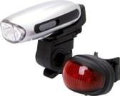 POWERplus Swallow Dynamo / USB Oplaadbare LED Fiets Verlichting Set