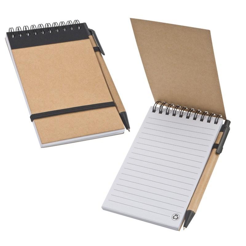 Notebook met balpen Note