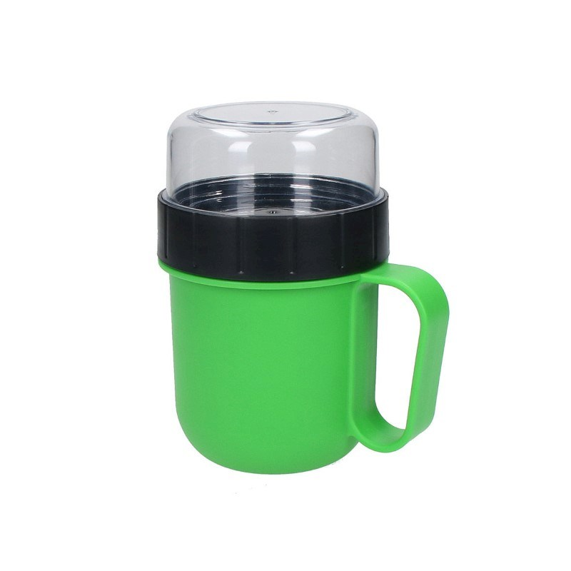 Cup with attachment