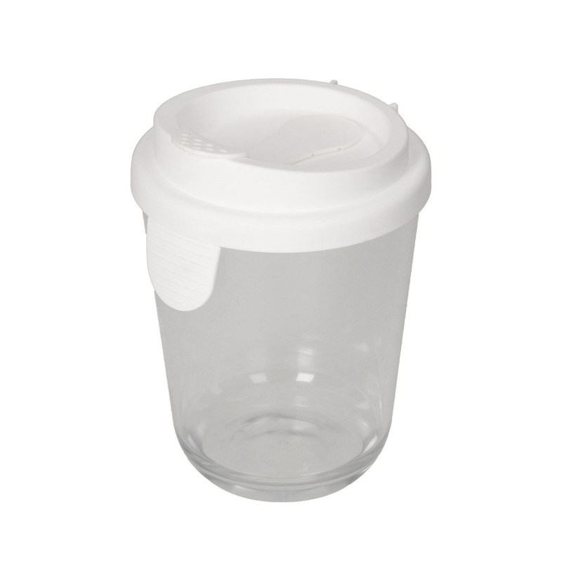 Coffee cup glass effect