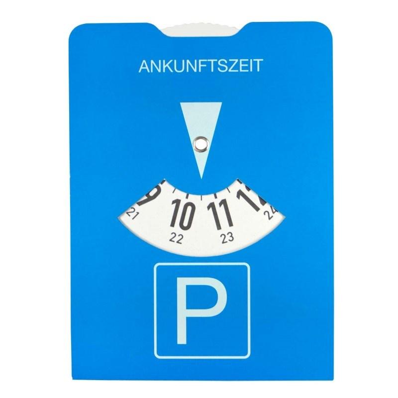 Cardboard parking disk
