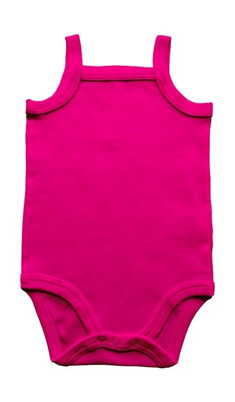 Baby Organic Strap Vest Bodysuit