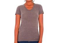 Women`s Tri-Blend Crew Neck T-Shirt