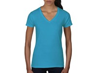 Women`s Fashion Basic V-Neck Tee