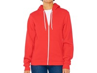 Unisex Flex Zip Hooded Sweat