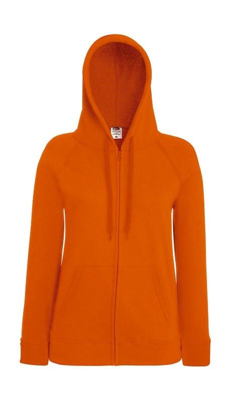 Ladies Lightweight Hooded Sweat Jacket