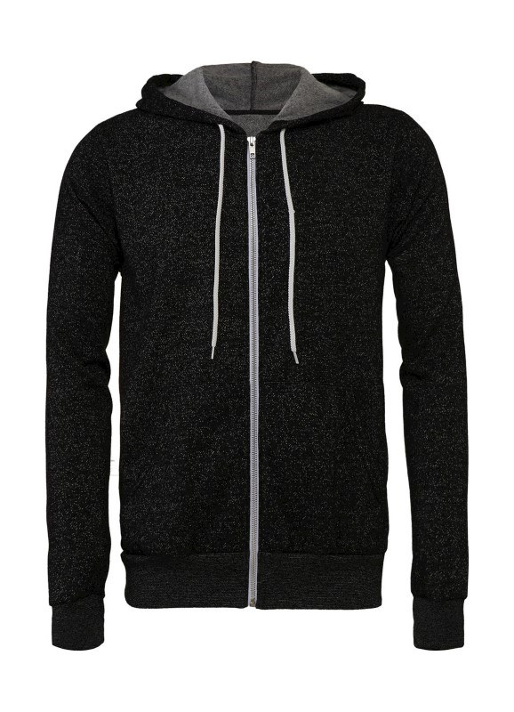 Unisex Poly-Cotton Full Zip Hoodie