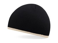 Two-Tone Beanie Knitted Hat