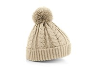 Cable Knit Snowstar Beanie