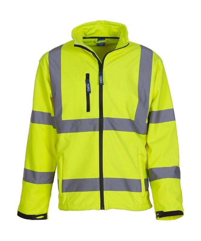 Fluo Softshell Jacket