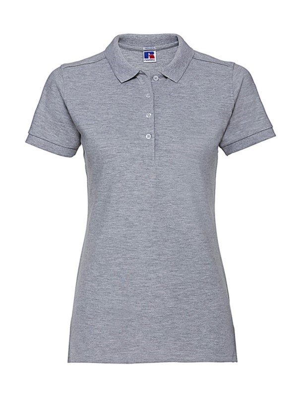 Ladies` Fitted Stretch Polo