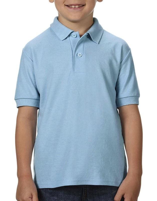 DryBlend® Youth Double Piqué Polo