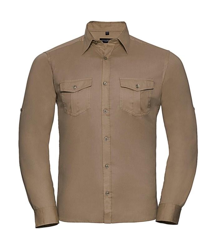Roll Sleeve Shirt Long Sleeve