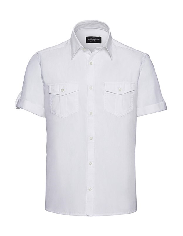 Men's Roll Sleeve Shirt