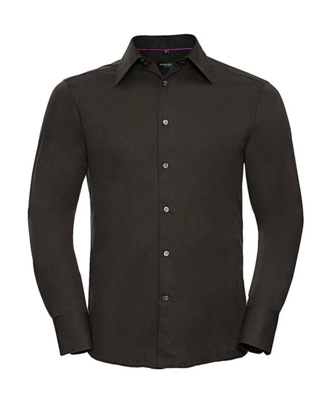 Tencel Fitted Shirt LS