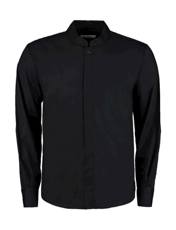 Bargear™ Shirt Mandarin Collar LS