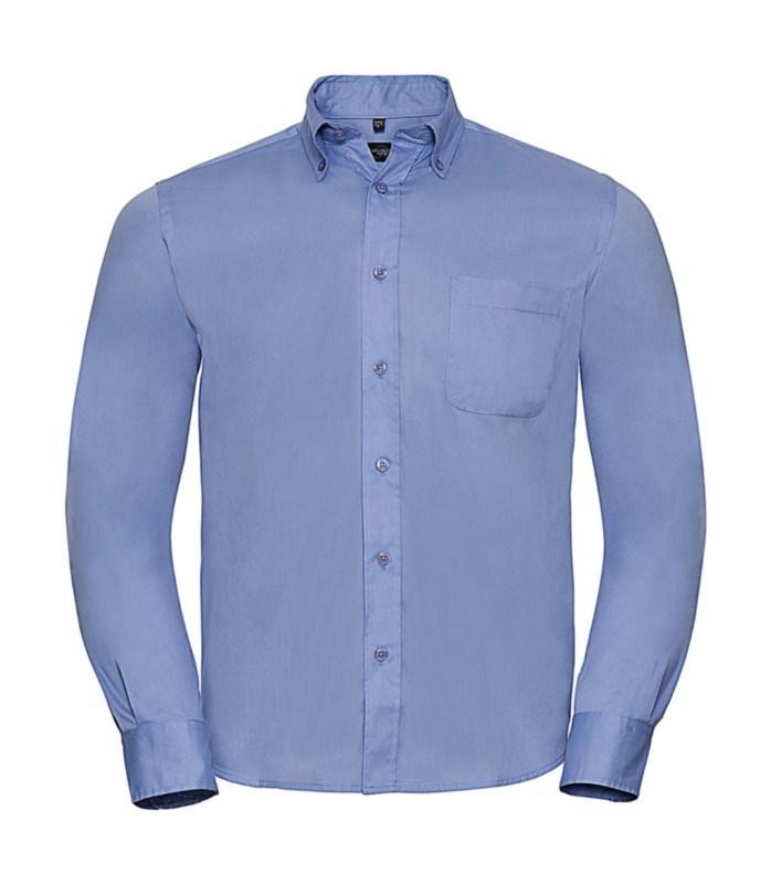Long Sleeve Classic Twill Shirt