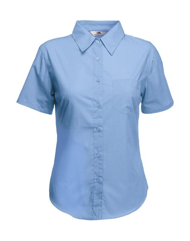 Ladies Poplin Shirt SS